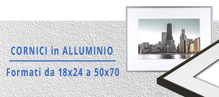 Cornici in alluminio